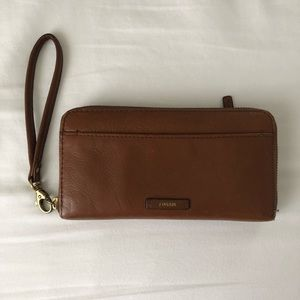 Fossil Wristlet Pocket Wallet